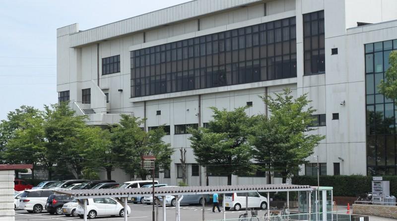 木曽川体育館(北側駐車場)