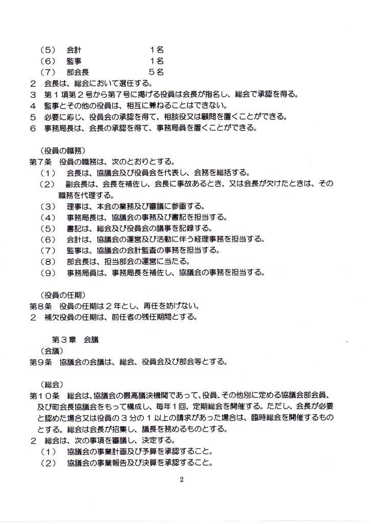 地域づくり協議会会則6-2